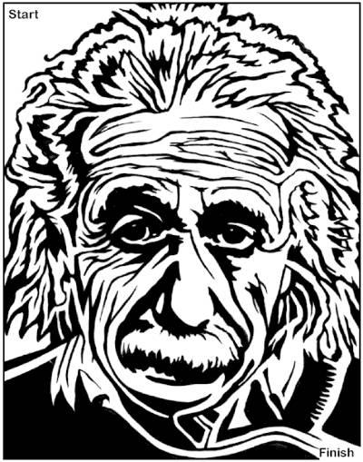Einstein-Maze