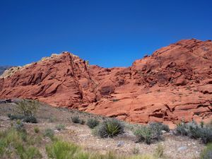 This is why they call it Red Rock Canyon!