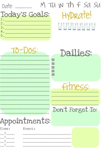 Nancy S Clubhouse July 22nd Printable Daily Journal