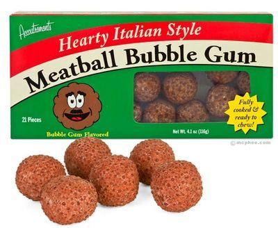 Meatball gum
