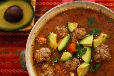 Albondagas Soup