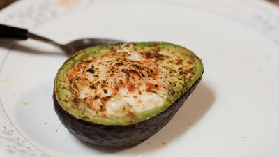 Baked egg in Avacado