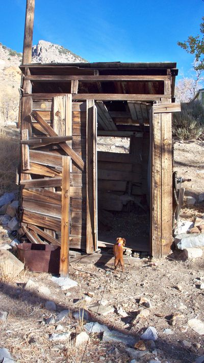 Old mine shaft - be careful!